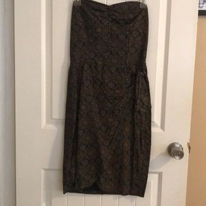 Vintage strapless dress